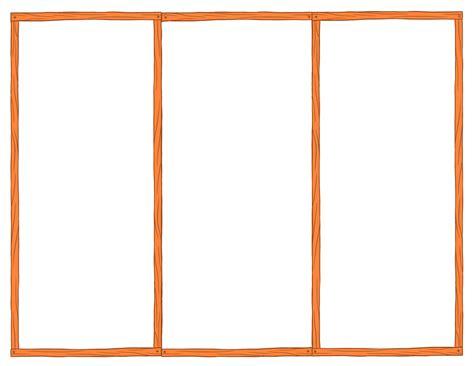Free Tri Fold Brochure Templates Blank Printables Blank Brochure Mughals