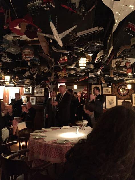 standing ovation  donald trump   york night