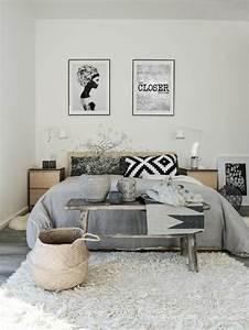 Bilder Für Das Schlafzimmer : 50 beruhigende ideen f r schlafzimmer wandgestaltung ~ Michelbontemps.com Haus und Dekorationen