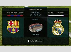 Barcelona vs Real Madrid Full Match La Liga Sunday