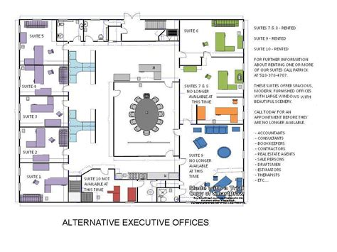 Executive Office Layout With Executive Office Layout