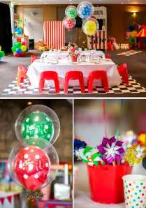 Baby Shower Balloons For Boys by Kara S Party Ideas Circus Carnival Boy 5th Birthday