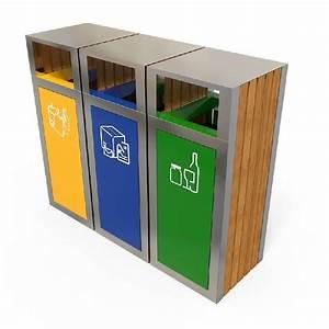 Poubelle Tri Selectif 2 Bacs : poubelle tri s lectif 3 bacs tous les fournisseurs de ~ Dailycaller-alerts.com Idées de Décoration