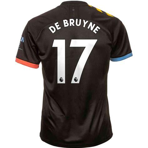 2019/20 PUMA Kevin De Bruyne Manchester City Away Jersey ...