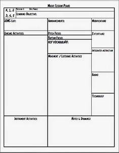 melodysoup blog music lesson plan templatethis is the With week long lesson plan template