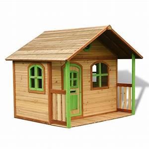 Maison En Bois Enfant : maisonnette bois maisonnette enfant comparer les prix ~ Nature-et-papiers.com Idées de Décoration