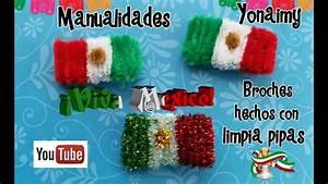 BANDERAS PATRIOTICAS HECHAS CON LIMPIA PIPAS YouTube