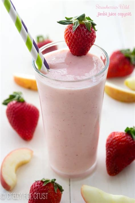 jamba juice make it light jamba juice strawberry wild nutrition information