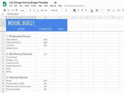 Moving Budget Template Relocation Costs Guide Realistic
