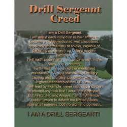 Army Drill Sergeant Creed