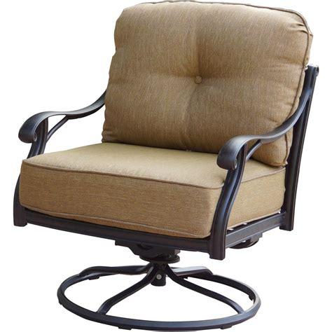 Patio Furniture Chairs patio furniture cast aluminum seating rocker swivel