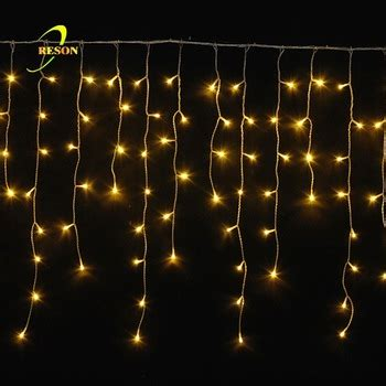 party decoration multicolor led icicle lights for sale