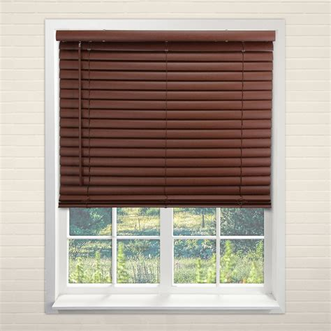 Mini Blinds by Chicology Cordless 2 Inch Vinyl Mini Blinds Window