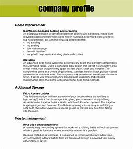 32 free company profile templates in word excel pdf With how to make a company profile template