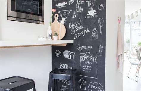 ardoise deco cuisine cuisine moderne idées et inspirations pour une déco de