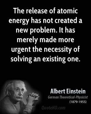 einstein nuclear quotes quotesgram