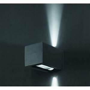 Luminaire Exterieur Design : applique ext rieur cube gris fonc luminaire design faro ~ Edinachiropracticcenter.com Idées de Décoration