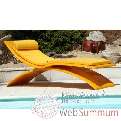 chaise longue piscine chaise design slidezoe080 meuble terrasse design
