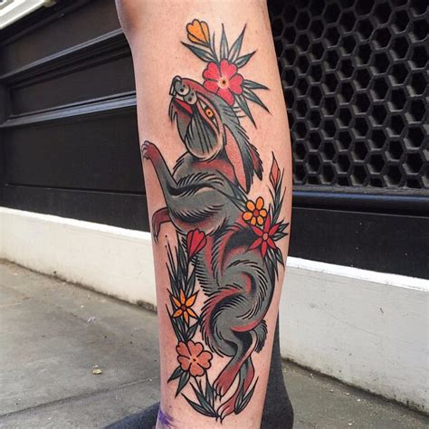 red bloody hare tattoo  tattoo ideas gallery