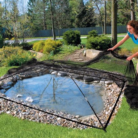 pond covers for winter garden and pond covers 4308