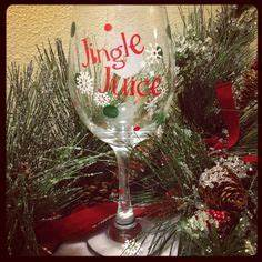 Holiday hand painted wine glass do this all the time how