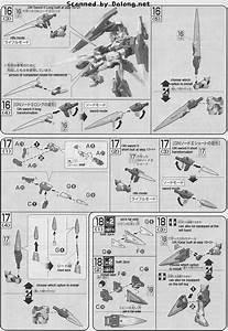 Hg 00 Gundam Seven Sword  G English Manual And Color Guide