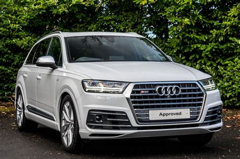 Sq7 Tdi 2016 by Used 2016 Audi Q7 Sq7 Tdi Quattro For Sale In West