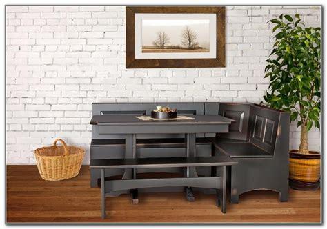 Corner Kitchen Table With Storage Bench  Kitchen Set