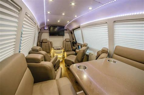 fold away luxury sprinter charters his majesty coach