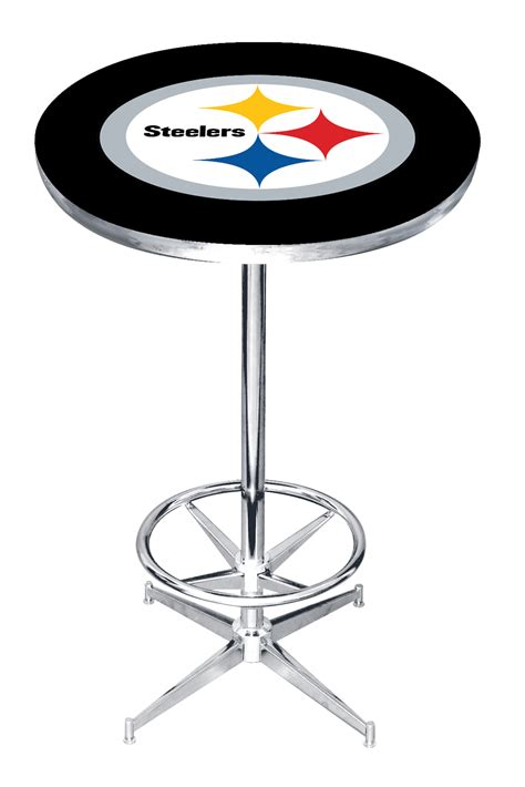 pittsburgh steelers pub table