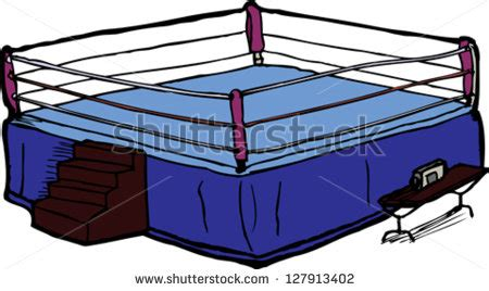 round table sports arena cartoon boxing ring stock images royalty free images