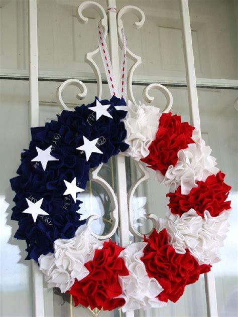 4th of july wreath dejavu crafts fourth of july wreath ideas