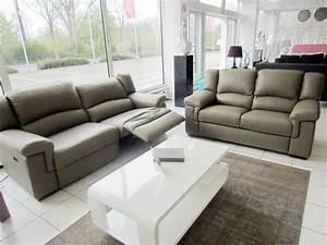 Sofa Mit Relaxfunktion Leder : divanotti 3er sofa mit elektrische relaxfunktion 2er sofa in leder schlamm ebay ~ Bigdaddyawards.com Haus und Dekorationen
