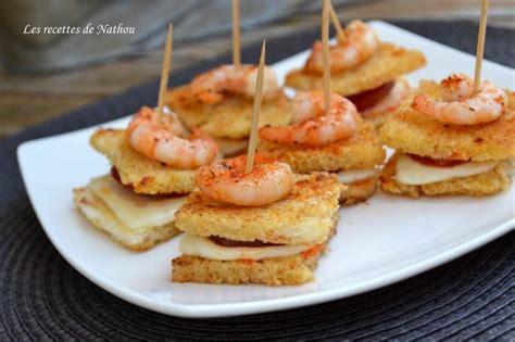 recette petits croques au manchego  chorizo crevettes