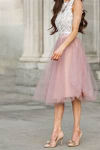 20 Fashionable Tulle Skirt Outfits for Summer   Styles Weekly