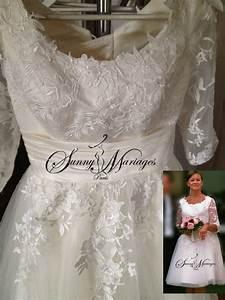 Robe Courte Mariée : robe de mariee courte manche en dentelle noir sunny mariage ~ Melissatoandfro.com Idées de Décoration