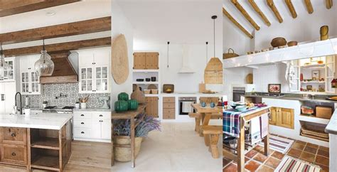 fotos de cocinas rusticas decoracion  imagenes de cocinas