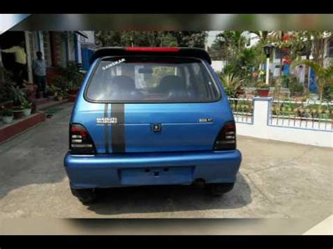 Car Modification Alto by Modified Maruti 800