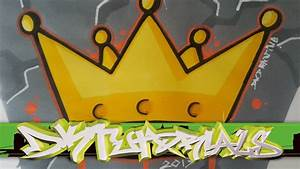 How to draw a graffiti crown step by step - Graffiti ...