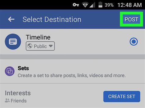 slideshow  facebook  steps  pictures