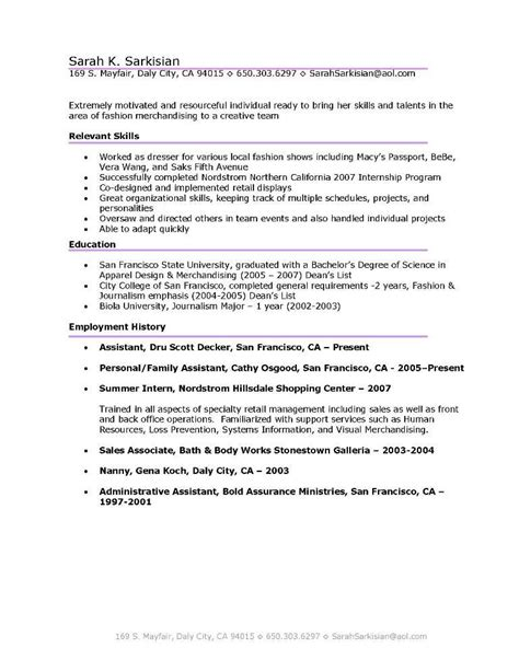 Kinds Of Resume Sle by Resume Sles Types Of Resume 12 Images Light Technician Cover Letter Government Accountant