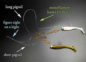 How To Tie  U0026 Fish A Double Rig For Speckled Trout