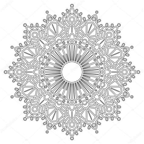 Kleurplaat E by Kleurplaat Met Mandala Stockvector 102921196
