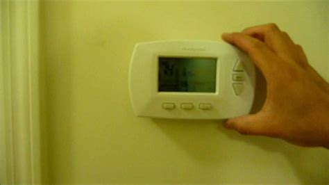 thermostat honeywell programmable installation