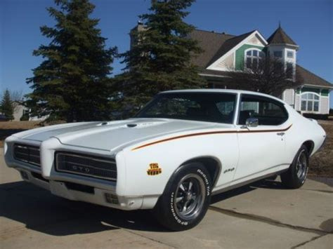 Sell Used Beautiful 1969 Gto 400 With Factory Air, True