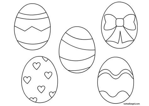 immagini colorate bellissime uova pasquali da colorare tuttodisegni pasqua