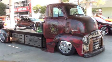 sema  rat rod mid engine turbo diesel truck youtube