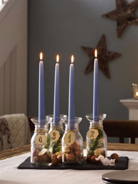 fresh christmas decorating ideas advent wreath candles
