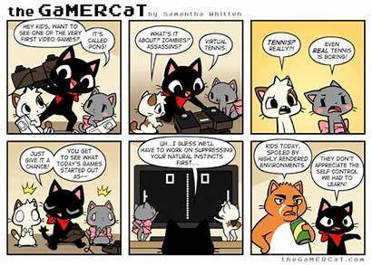 Gamercat Comics Gamer Sunday Comic Nicht Leg