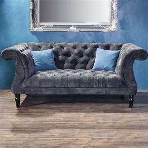 Chesterfield Sofa 4 Sitzer : chesterfield 2 sitzer sofa samtvelours couchgarnitur ebay ~ Bigdaddyawards.com Haus und Dekorationen